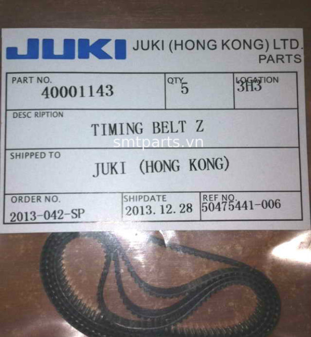 JUKI 40001143 TIMING BELT Z